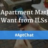 What Apartment Marketers Want from ILSs